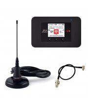 Комплект 4G для автомобиля 2 (4G LTE+CDMA Wi-Fi Роутер Sierra AirCard 791L + 3G CDMA+GSM Антенна Автомобильная 900 МГц 10 дБ)