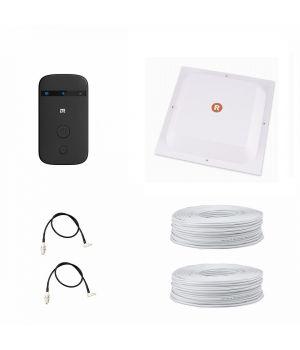 "Комплект ""Домашний"" (4G LTE Wi-Fi роутер ZTE MF90 + 4G LTE антенна MIMO панельная RNet 1700-2700)"