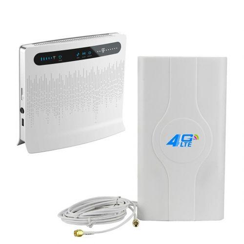 Комплект «LTE Универсальный» (Huawei B593 Уценка + Антенна 4G LTE MIMO SMA)