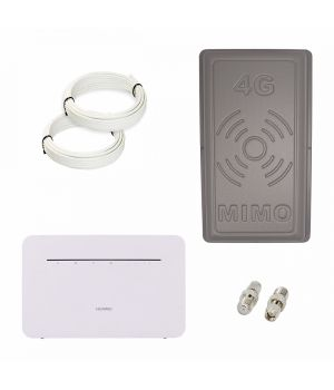 "Комплект 4G ""Huawei b535-232 + Антенна панельная MIMO 17Дб"""