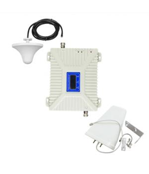 Комплект GSM репитер усилитель связи 900/1800 МГц с антенной 10 Дб